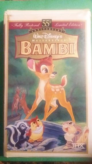 vhs bambi free shipping