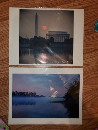 2 Photo Prints from Washington D.C.