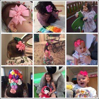 3 Inch Cute Kids Baby Girls Headbands Solid Color Hair Band Accessories