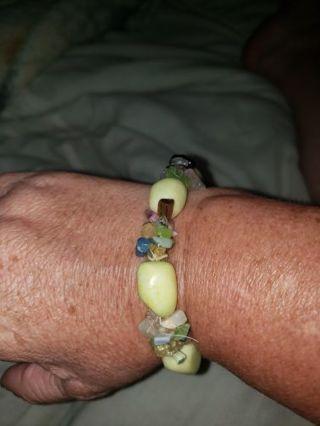 Lovely Stones and Chips Bracelet