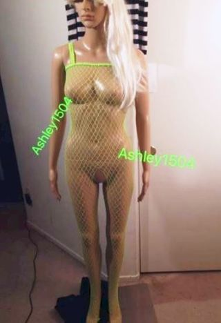 1 NEW Ladies Women's Sexy Lingerie Fishnet 1 - Piece Exotic Hot GIN