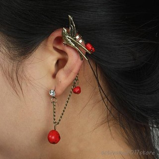 """""""""""MOCKINGBIRD"""""""" (GIRL ON FIRE!!) & BEADED EARRING IN RED ONLY THE BLUE IS SOLD OUT!!!"""