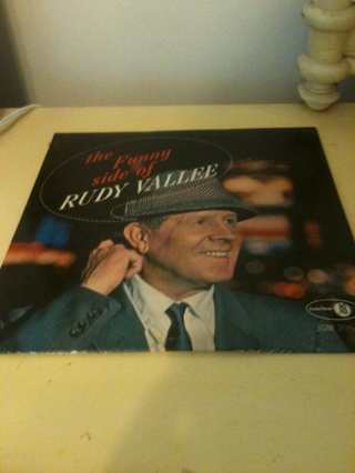 THE FUNNY SIDE OF RUDY VALLEE RECORDED JULY 26TH 1963