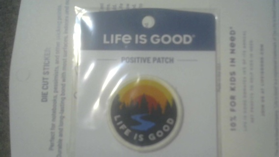 Life is Good Patch