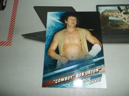 wwe  2019  topps    smack down  live  '  cowboy ' bob  orton    card  #   70