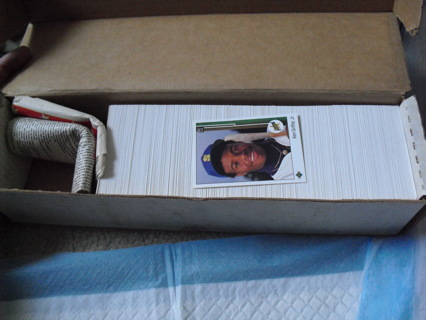 1989 Upper Deck Baseball Card Set with Griffey Rookie