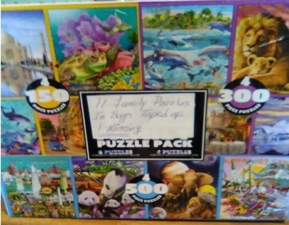 Box of Puzzles -Read everything/GIN Reduced