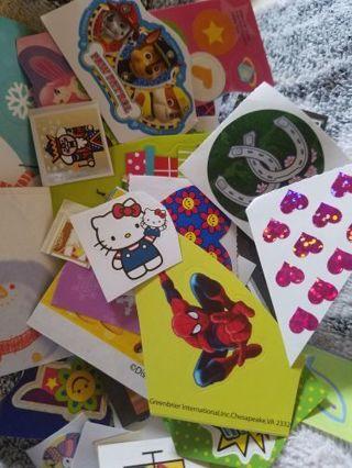 50 plus Stickers