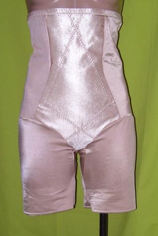 7bcf897c87 Cupid 5369 Size 2XL Beige Triple Panel Extra Firm Control Hi-Waist Thigh  Slimmer Shapewear