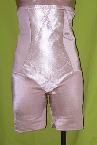 16617c1a073 Cupid 5369 Size 2XL Beige Triple Panel Extra Firm Control Hi-Waist Thigh  Slimmer Shapewear
