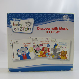 Baby Einstein Discover With Music 3 CD Box Set