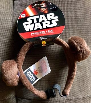 Princess LEIA Star Wars Disney PET Headband by Rubie's Costume