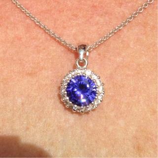 "18"" silver necklace"