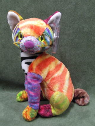 9af0c505f6e Free  Kaleidoscope the Cat TY Original Beanie Baby - Dolls   Stuffed ...