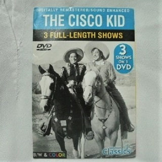 The Cisco Kid Classic TV DVD 3 Shows
