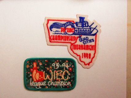 2 Bowling Patches