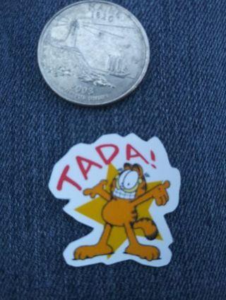 Garfield vinyl lab top sticker No refunds! Good quality! Lowest gins no lower! Always bonus!