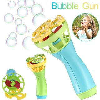 Electric Bubble Wands Machine Bubble Maker Automatic Blower Outdoor Kids Toy New