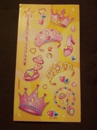 Princess Sticker Sheet