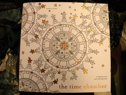Free New Adult Coloring Book The Time Chamber Daria Song Activity
