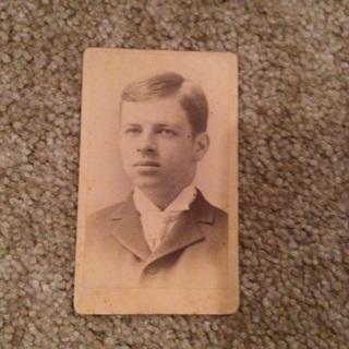 Antique boy picture