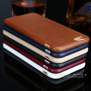 Luxury Ultra thin Slim Leather Soft TPU Phone Case Cover For iPhone 6 6s 7 Plus
