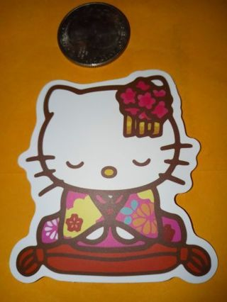 Hello kitty Cute vinyl sticker no refunds regular mail only Very nice I love them