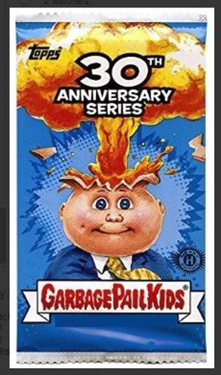 GARBAGE PAIL KIDS Cards BOOSTER PACK Trading Card Sticker 30th Anniversary