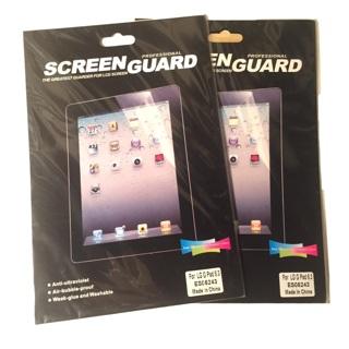 Screen protectors for LG G Pad 8.3