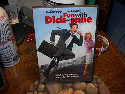 Fun With D*ck And Jane DVD~~EUC~~Jim Carrey Version