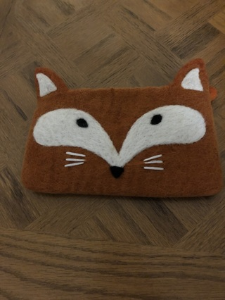 Brand new without tags cute fox purse