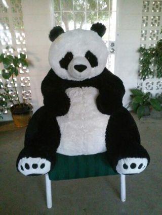 GIANNORMOUS JUMBO STUFFED PANDA BEAR
