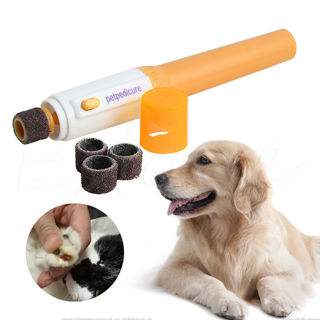 Electric Dog Cat Pet Claw Toe Nail Trimmer Tool Care Grooming