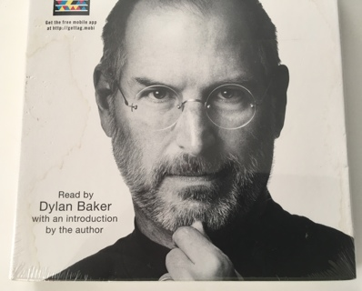 STEVE JOBS Audio Book by Walter Isaacson 2011 Abridged 7 CD's - Brand New Factory Sealed!