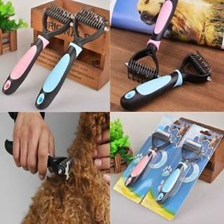Useful Tool Dog Stainless Mat Brush Comb Hair Pet Dog