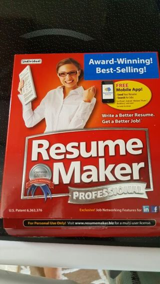Free: RESUME MAKER PROFESSIONAL CD WITH ACTIVATION KEY. - Software ...