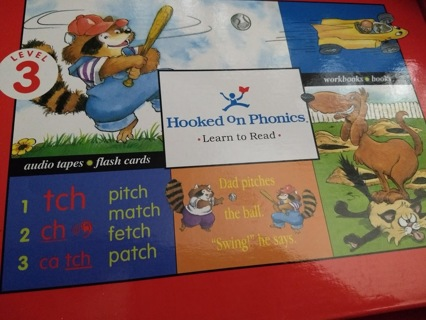 Box of the HOOKED ON PHONICS/LEARN TO READ