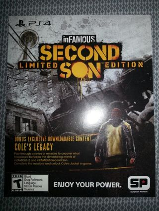 Free Infamous Second Son Cole S Legacy Dlc Sony Playstation 4 Ps4 Psn Video Game Prepaid Cards Codes Listia Com Auctions For Free Stuff