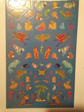 Large Sheet of Scuba Divers Stickers