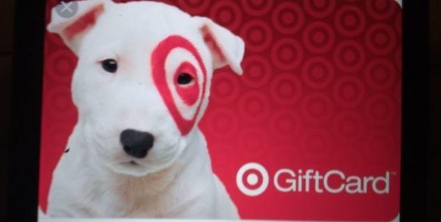 $2.00 Target e gift card