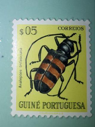 *( MINT )* 1953 * Portuguese Guinea * *( BEETLE )* Stamp *(Please Read Details)*