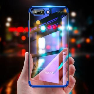 Plating Case for Huawei Y5 Y6 Prime 2018 Y7 Prime 2017 Y9 2018 3in1 Case for Honor 6C 7A 7C Pro 7X