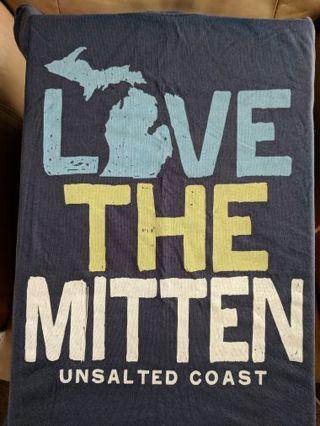 Unsalted Coast Love the Mitten T-shirt