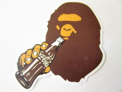 A BAPE AND A COKE Sticker- Helmet/Car/Skateboard/Business/Crafts