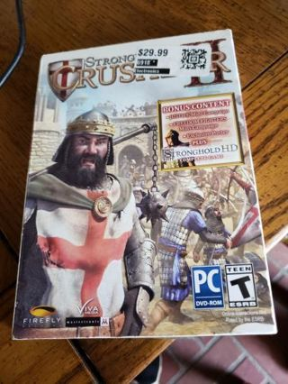 Sealed pc game stronghold crusader