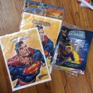 Superman/Justice League Party Supplies
