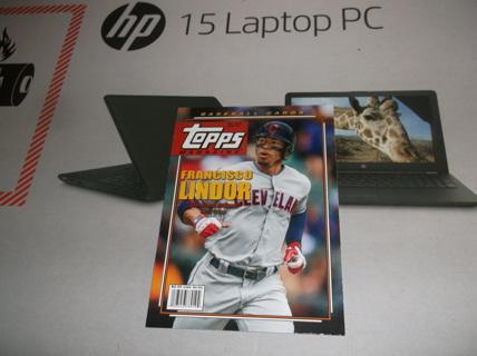 2019 Topps Archives Topps Magazine  Francisco Lindor    tm - 7  Cleveland Indians