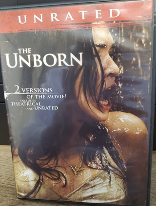 """DVD - """"The Unborn"""" - rated PG-13"""