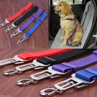 1Pc Nylon Cat Dog Pet Safety Car Vehicle Strap Seat Belt Adjustable Harness Lead