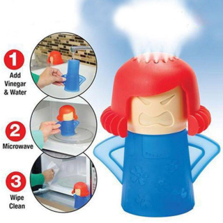 *Microwave Cleaner* Angry Mama Cleaning Cooking Kitchen Gadget Tools #96